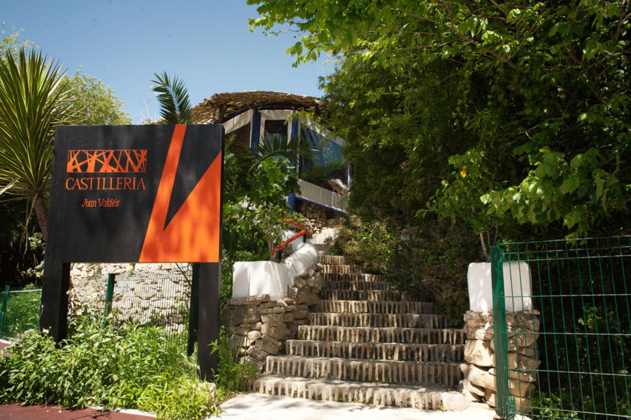 Restaurante de la Castillería, en Santa Lucia