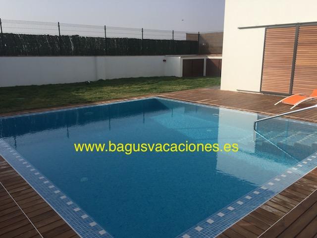 Chalet cielo playa del palmar deluxe con piscina for Chalets con piscina privada para vacaciones