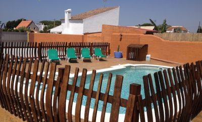 Casa n. 4, Manis ComplejoTurísticos , Playa de Zahora, Caños de Meca, Costa de la Luz, Cadiz