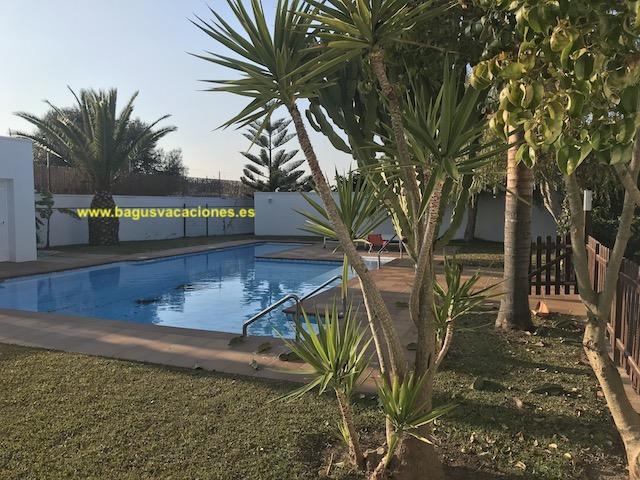 Chalet Alamo, de lujo, piscina privada, 3 dormitorios para 6 personas