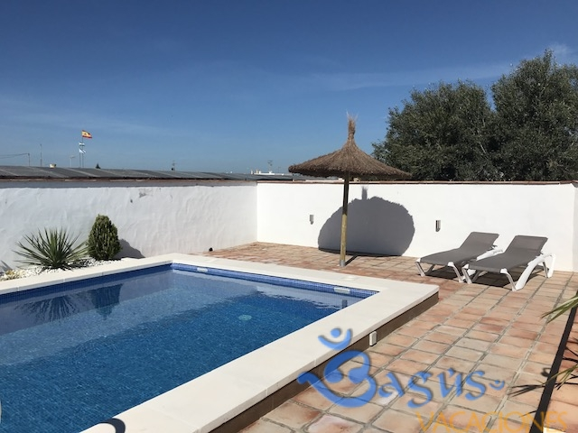 Casa junco 2 jacuzzi privado casas el arriate playa for Aparthotel con piscina privada