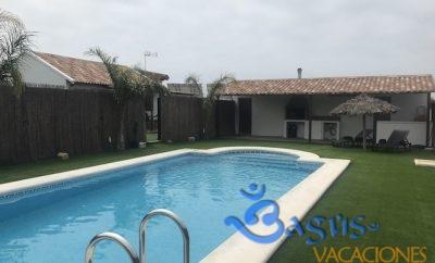 Cortijillo Noriva, Casa n.1 Sagalo Naranja, Playa del Palmar, Costa de la Luz, Cadiz