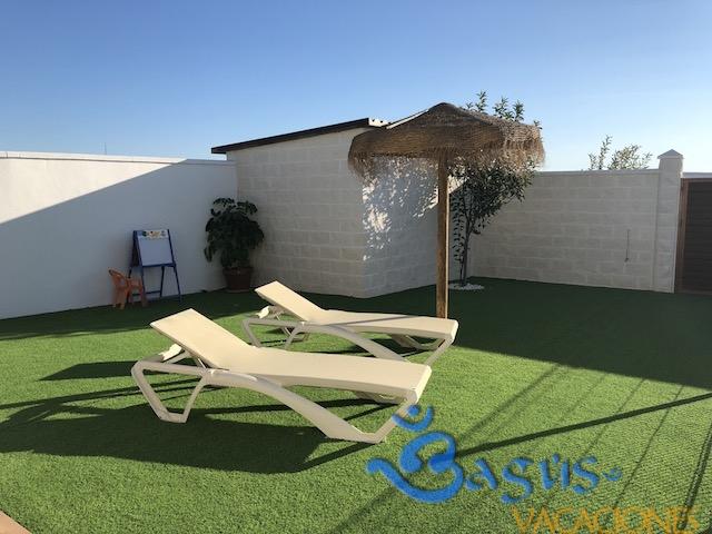 Casa el torno 2 cerca de la playa en el palmar con piscina for Casas con piscina privada en cadiz