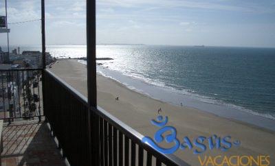 Rota, 1ª Línea de Playa con garaje y wifi