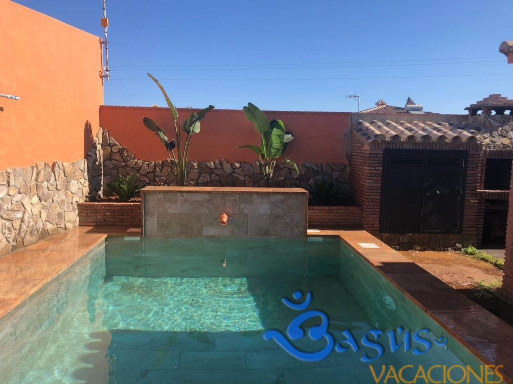 Casa Jardín-Piscina Fran