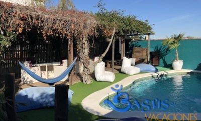 Casita Los Pareja Apartamento A con Terraza privada y piscina compartida