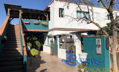 Casita Los Pareja Apartamento B con Terraza privada y piscina compartida
