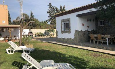 Casa La Viña, cerca de la playa, tres dormitorios.