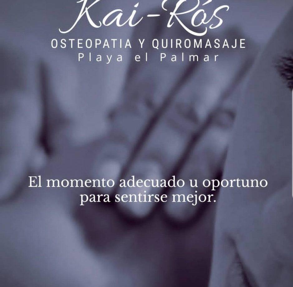 Quiromasaje Osteopatía Kai-Ros,  en El Palmar y Conil de la Frontera a domicilio