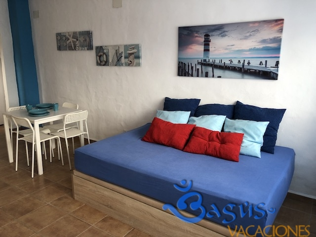 Casa Domingo en el Palmar, económica, 1 dormitorio, acogedora, cerca de la playa