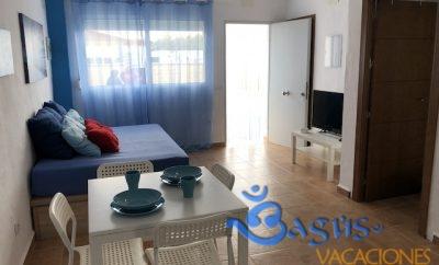 Casa Domingo acogedora y económica a 250m de la playa en El Palmar para 2/4 personas.