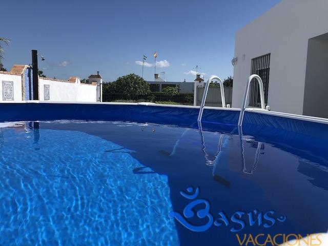 Casa isa, el palmar, piscina privada