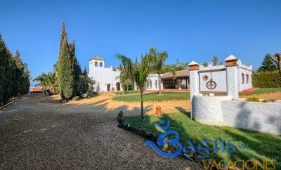 Casa El Olivo, piscina compartida para 6 persona, Hacienda Roche Viejo