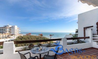 Villa Poniente: luminoso apartamento con vistas al mar en la Fuente del Gallo.