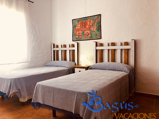 Casa Ibicenca Palmar 1, 3 dormitorios, a 600m de la playa, piscina privada, 2 baños, preciosa