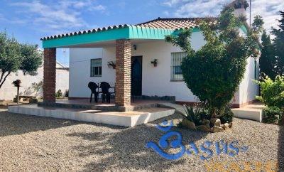 Casa Chispa el Palmar en el Palmar con jardín privado y 2 dormitorios para 4 personas