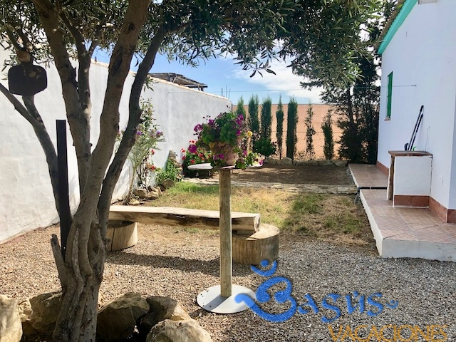 Casa Chispa el palmar, 2 dormitorios, jardín privado, zona barbacoa