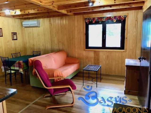 Casa Madera El Moral, madera de calidad, a 400m de la playa, en el Palmar, 2 dormitorios