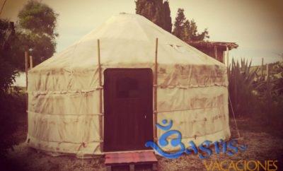Yurta Ecológica para los amantes de la naturaleza y de la bioconstrucción