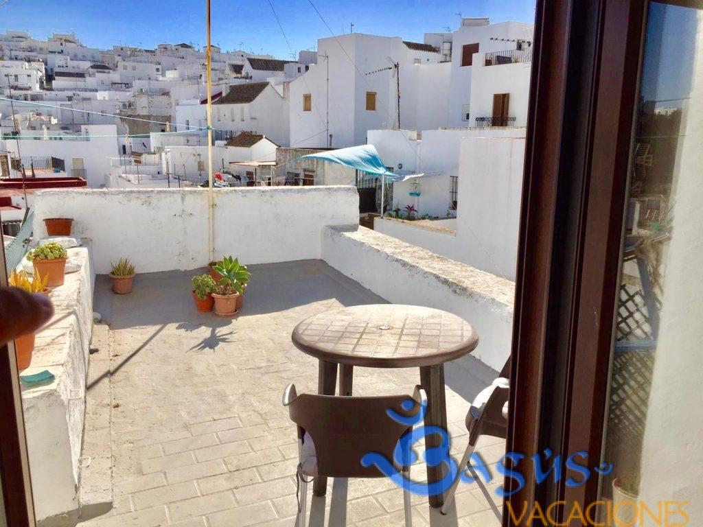 Apartamento con terraza en vejer