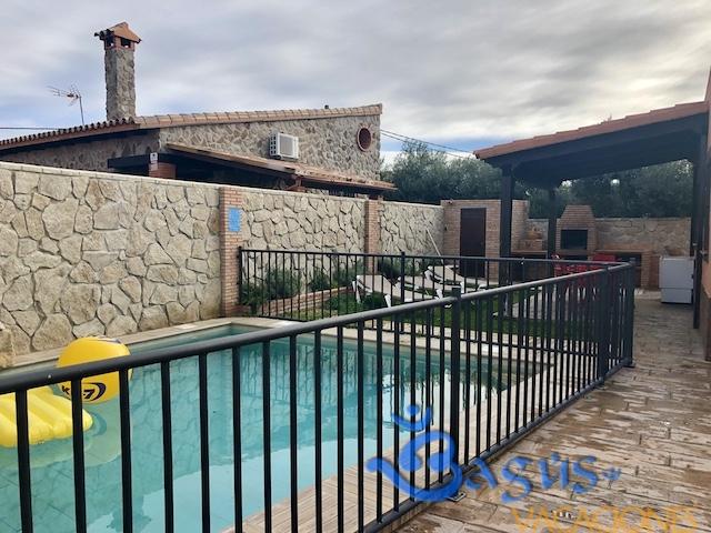 Casa con piscina climatizada el palmar