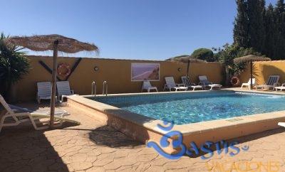 Estudios Mayorazgo en Conil campo para 2 personas con piscina compartida