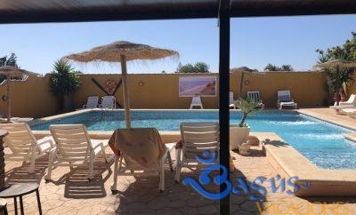 Casa Rural Mayorazgo en Conil de la Frontera, Casa Paqui con piscina compartida