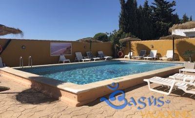 Casa la Huerta Complejo Rural Mayorazgo con piscina compartida