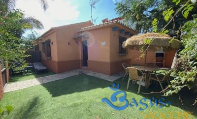 Casa bungalow piscina compartida a 250m de la playa en el Palmar