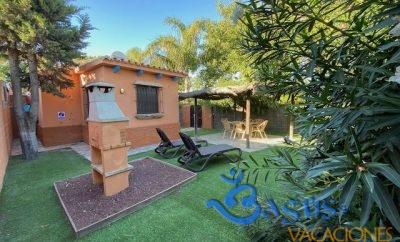 Casa bungalow para 4 personas jardín privado en El Palmar