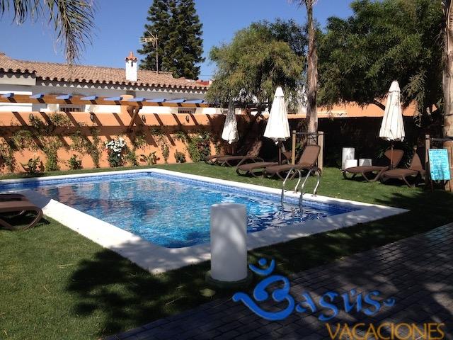 piscina compartida Ragel costa en la playa el Palmar cadiz