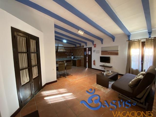 salón casa loft el palmar diáfana dentro del complejo Ragel costa
