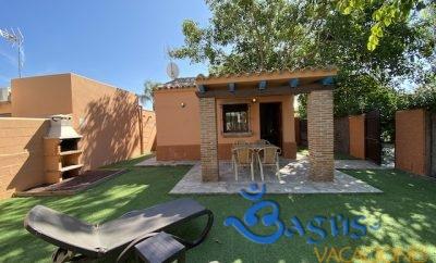 Casita para pareja con piscina compartida en El Palmar