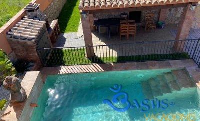 Casa con Jardín y Piscina privada a 200m de la playa en el Palmar