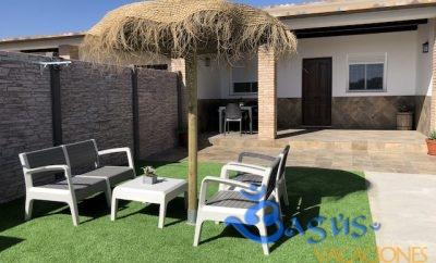 Casa de alquiler en el Palmar para 4 personas a 200m de la playa