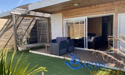 Casita La Selva 1 en El Palmar, acogedora, con jardín privado y wifi a muy buen precio para 4 personas.