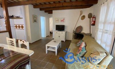 Casa en el Palmar con jardín privado en primera linea de playa